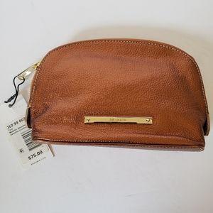 Brahmin Metallic Copper Makeup Bag NWT